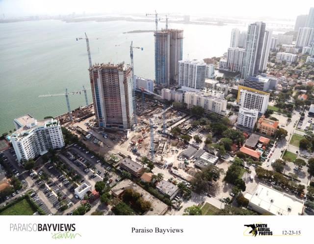 Construction Progress of Paraiso Bay, Paraiso Bayviews, One Paraiso and Grand Paraiso