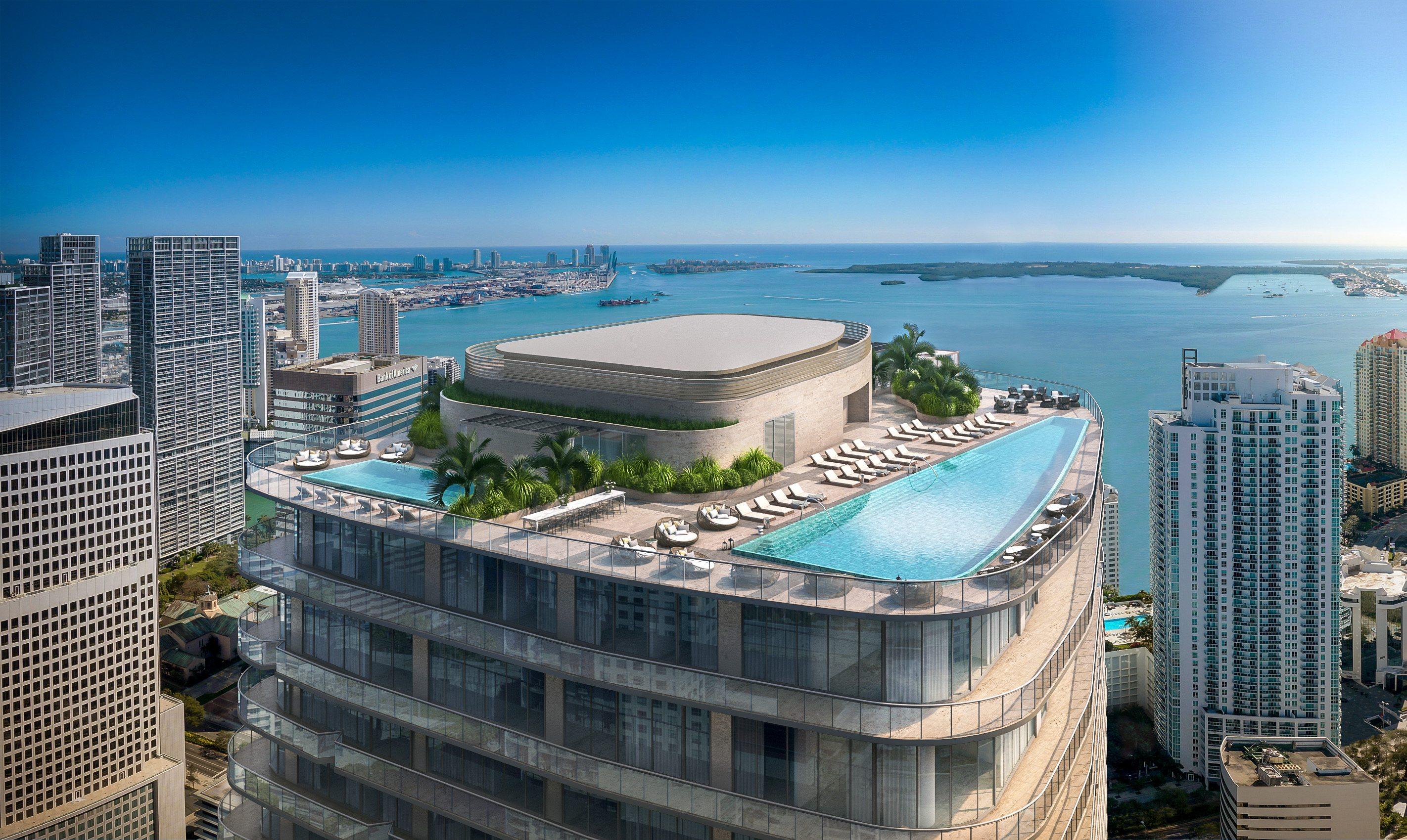 SLS Lux Rooftop Pool