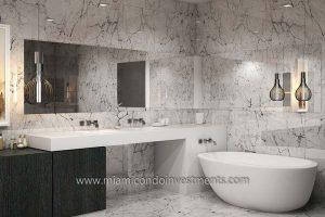 Aurora master bathroom