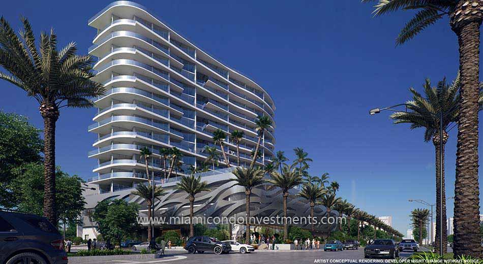 Aurora condominium in Sunny Isles Beach