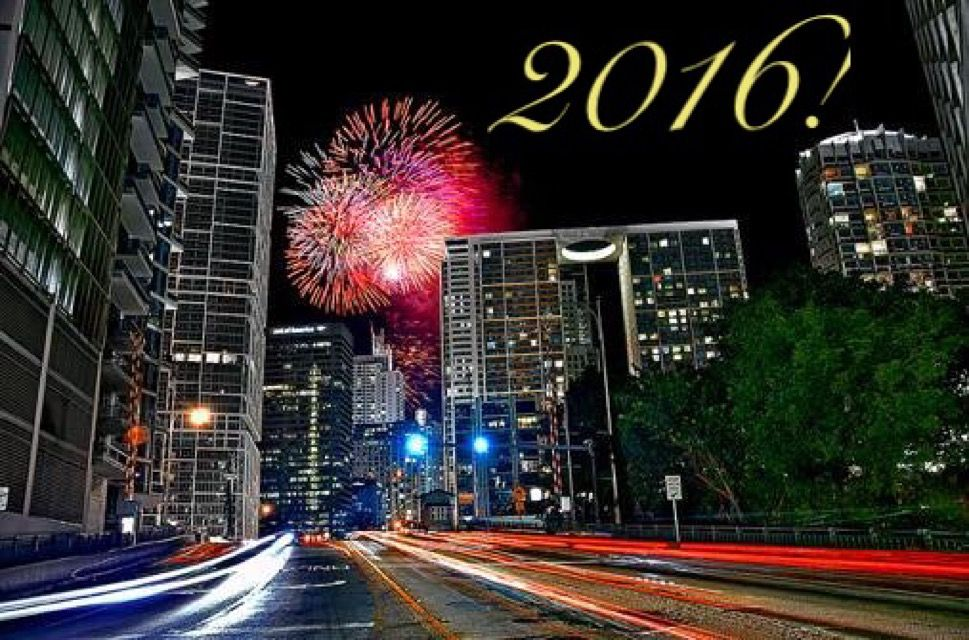 Happy New Year 2016 from Miami Condo Investments