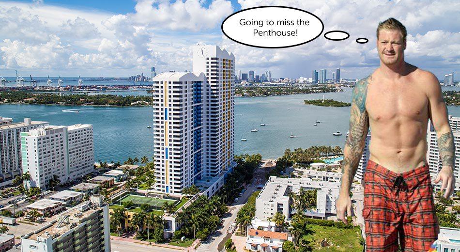 Jeremy Shockey lists South Beach penthouse for $3M