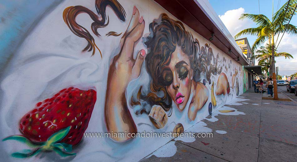 Wall Art in Wynwood Miami