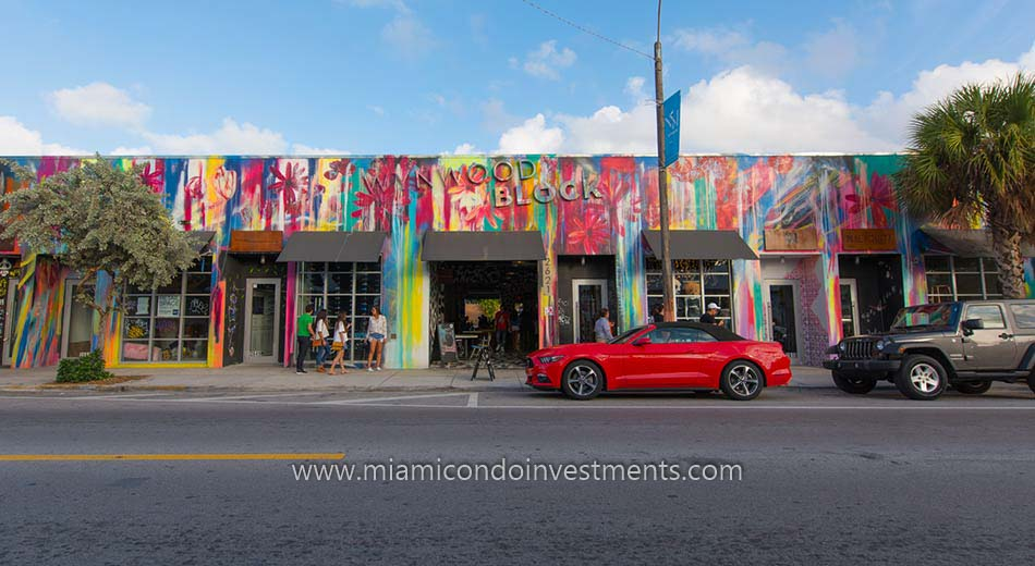 Wynwood Block in Wynwood Miami