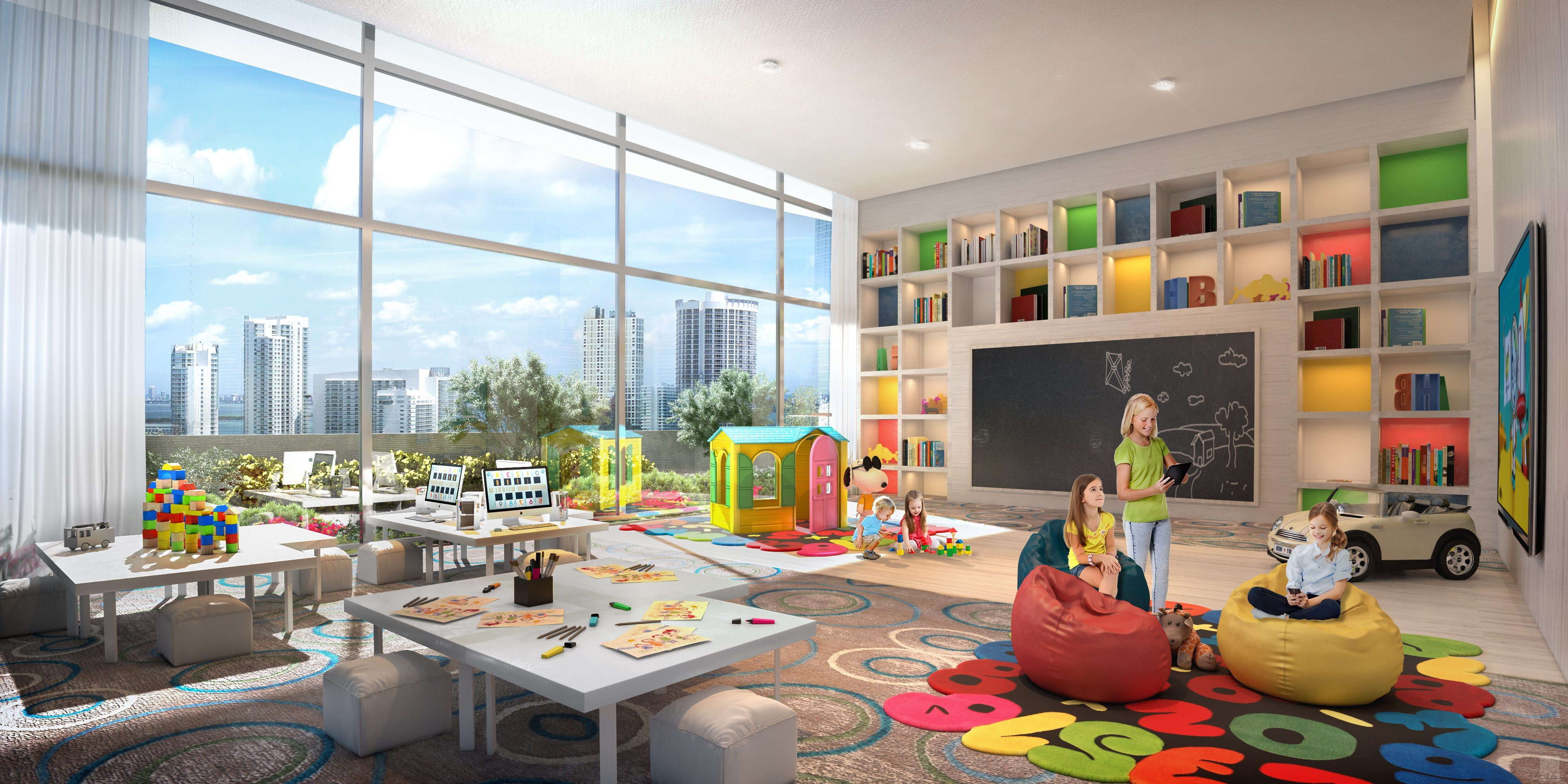 Canvas Kids Playroom