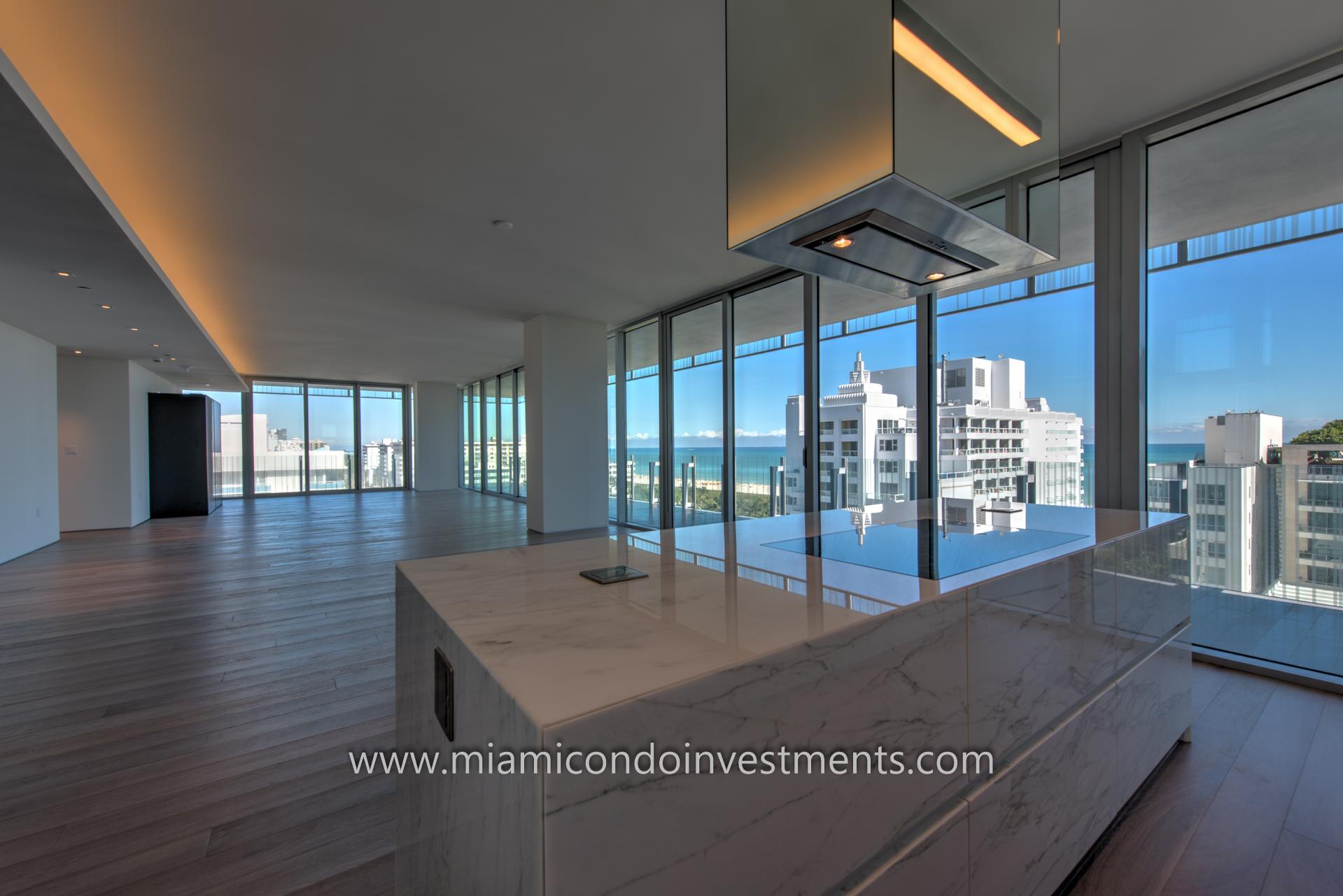 Photo Tour of GLASS condos in Miami Beach