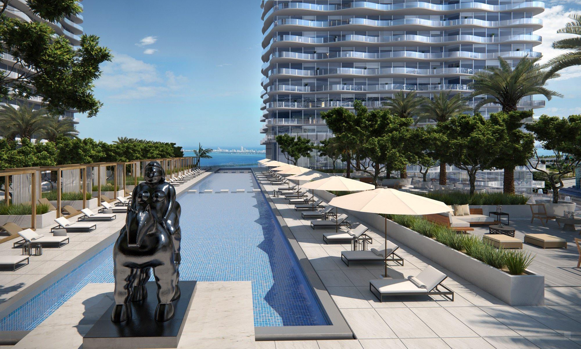 Auberge Miami Pool Miami Condos For Sale Rent