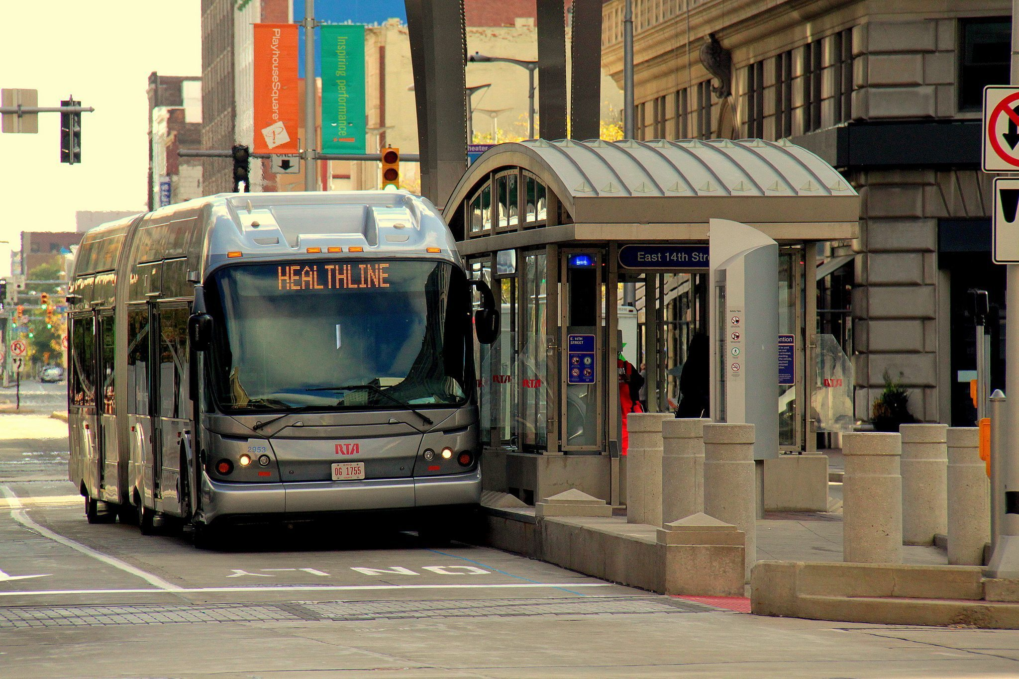 BRT in Cleveland. Photo via Flickr/Wyliepoon