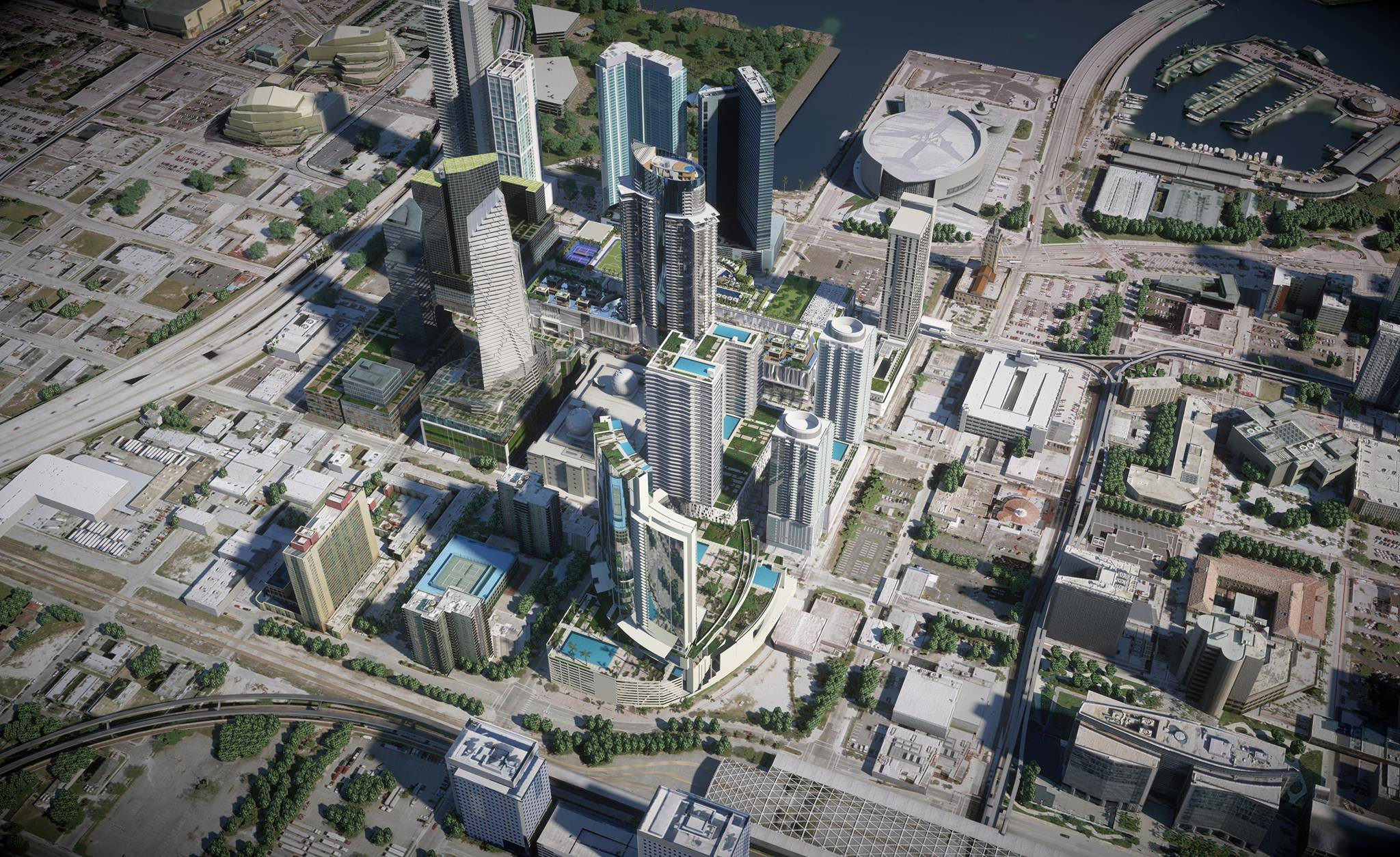 Miami Worldcenter Overview