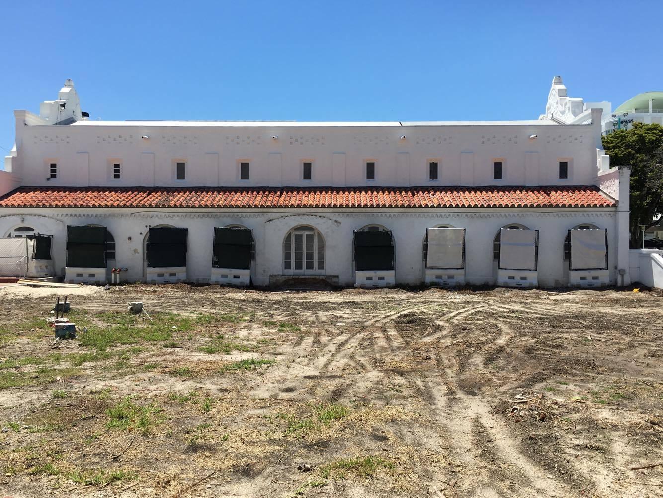 Miami Beach Community Church demolition. Photos by Phillip Pessar.