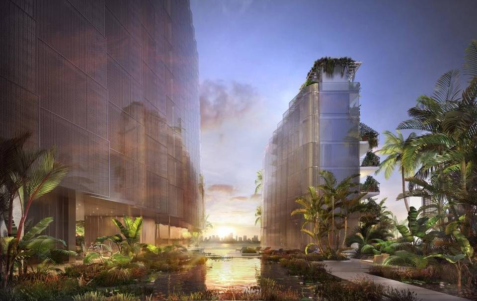 Rendering of Monad Terrace by Pritzker Prize-winning architect Jean Nouvel.