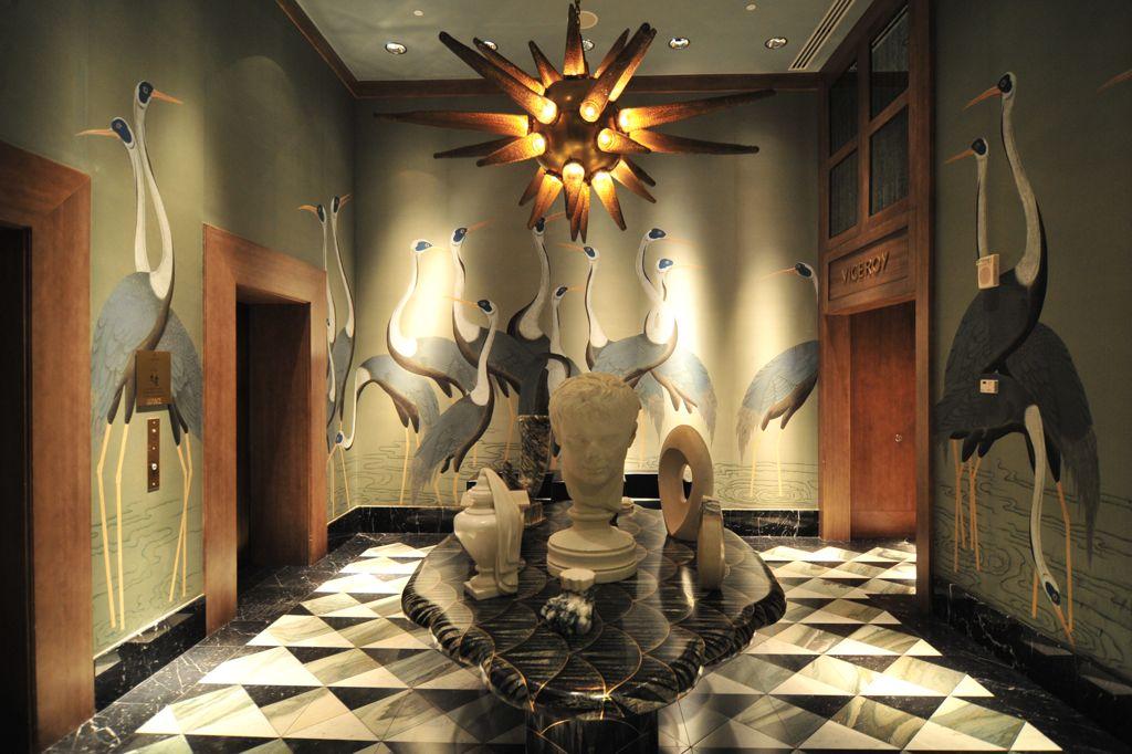 Viceroy Elevator Lobby. Photo via Flickr/ 準建築人手札網站 Forgemind ArchiMedia