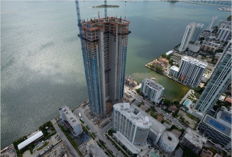 Biscayne Beach topping off
