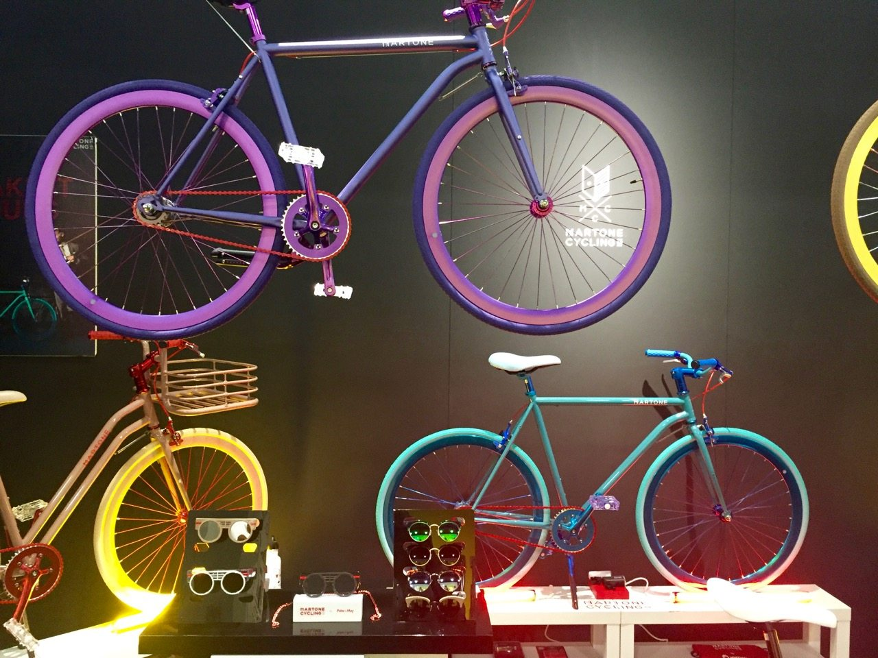 Martone Bicycles on display at Maison & Objet.