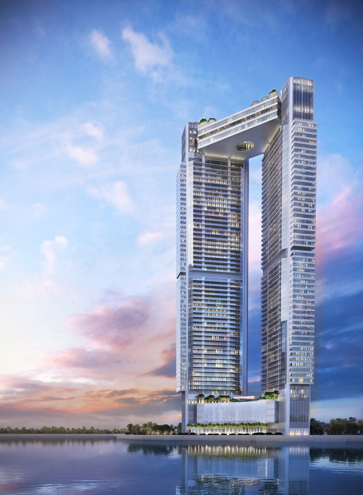 One river point rendering crush for Riverpointe