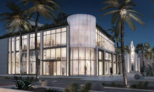 Miami Beach Community Church retail addition.