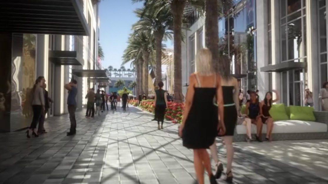 Paramount Miami Worldcenter high street retail