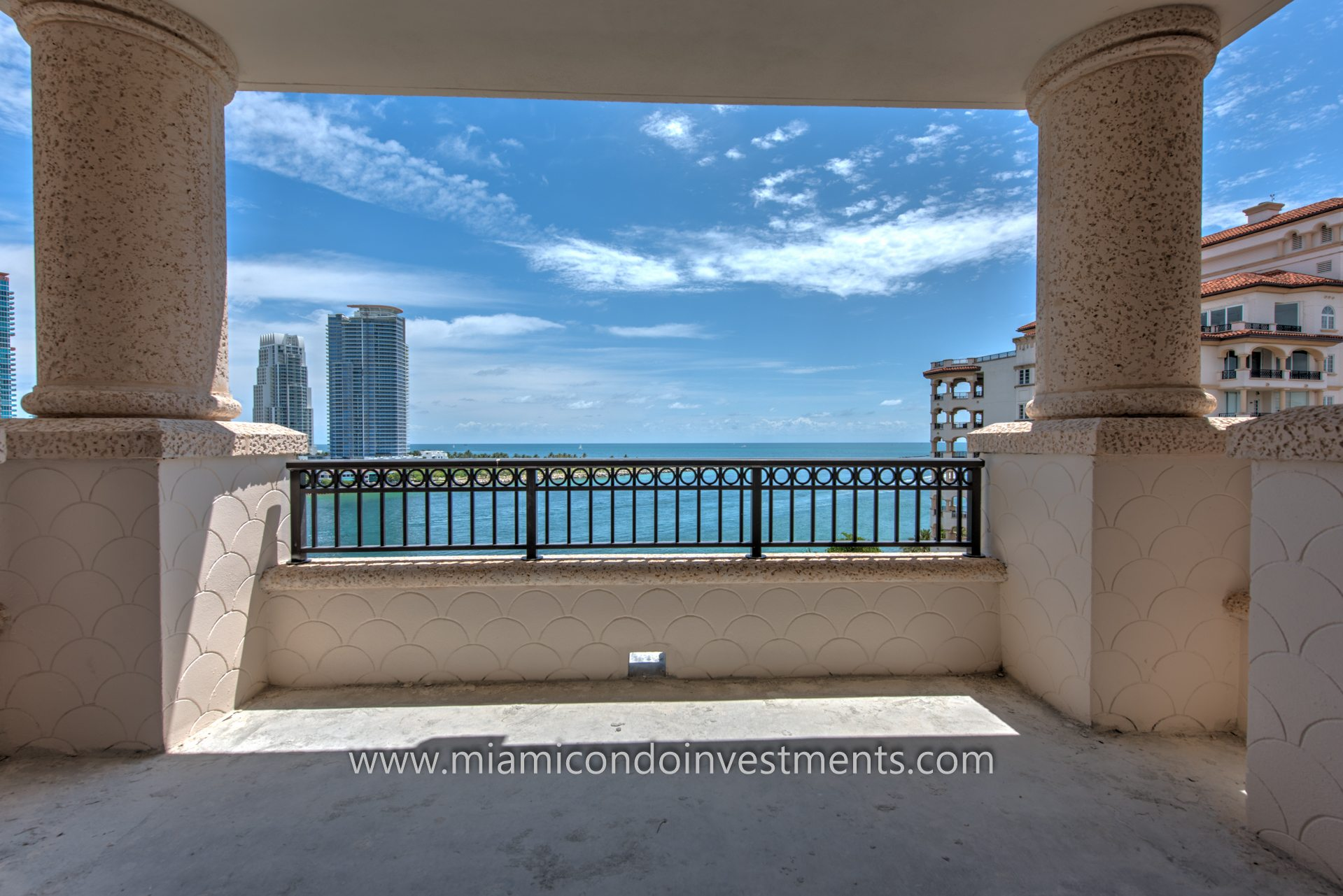 view from terrace of residence 7085 at Palazzo Del Sol