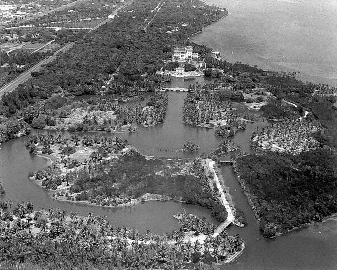Vizcaya Gardens circa 1930.