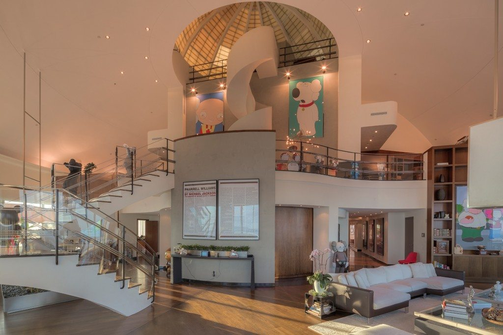 Pharrell Williams' Penthouse at the Bristol Tower.
