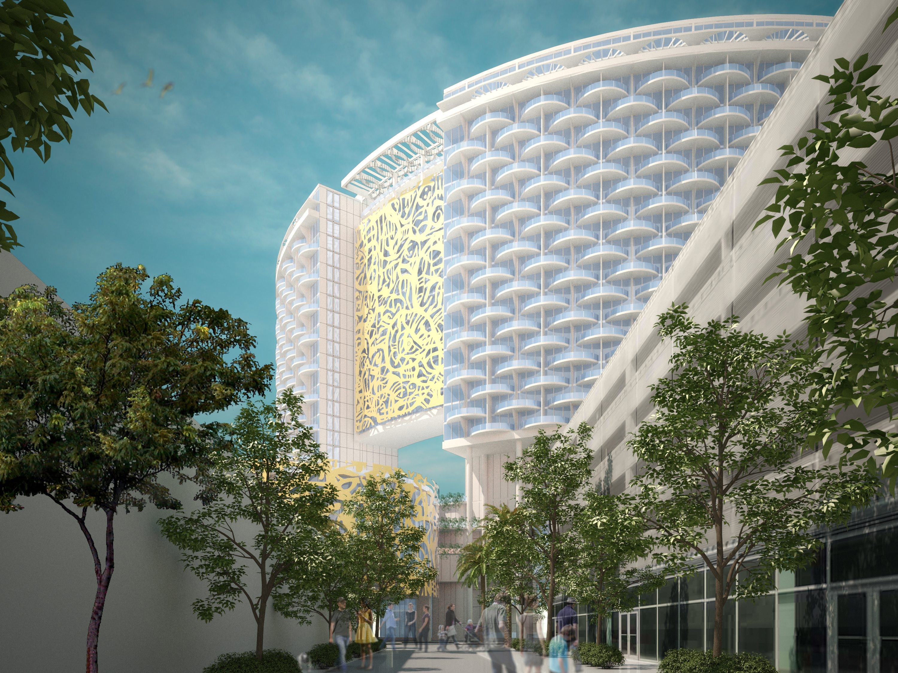 Proposed Miami Beach Convention Center Hotel