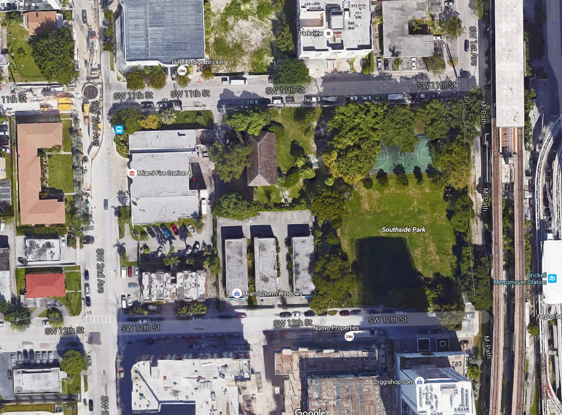 Southside Park, via Google Maps.
