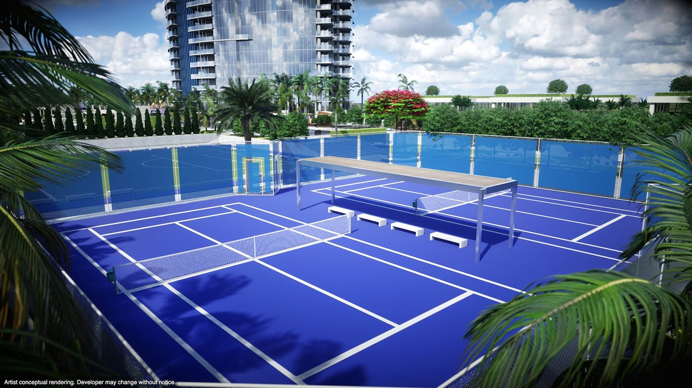 PARAMWC Tennis Courts
