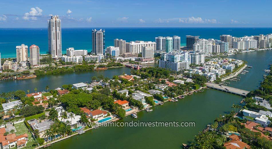 Allison Island Miami Beach Florida