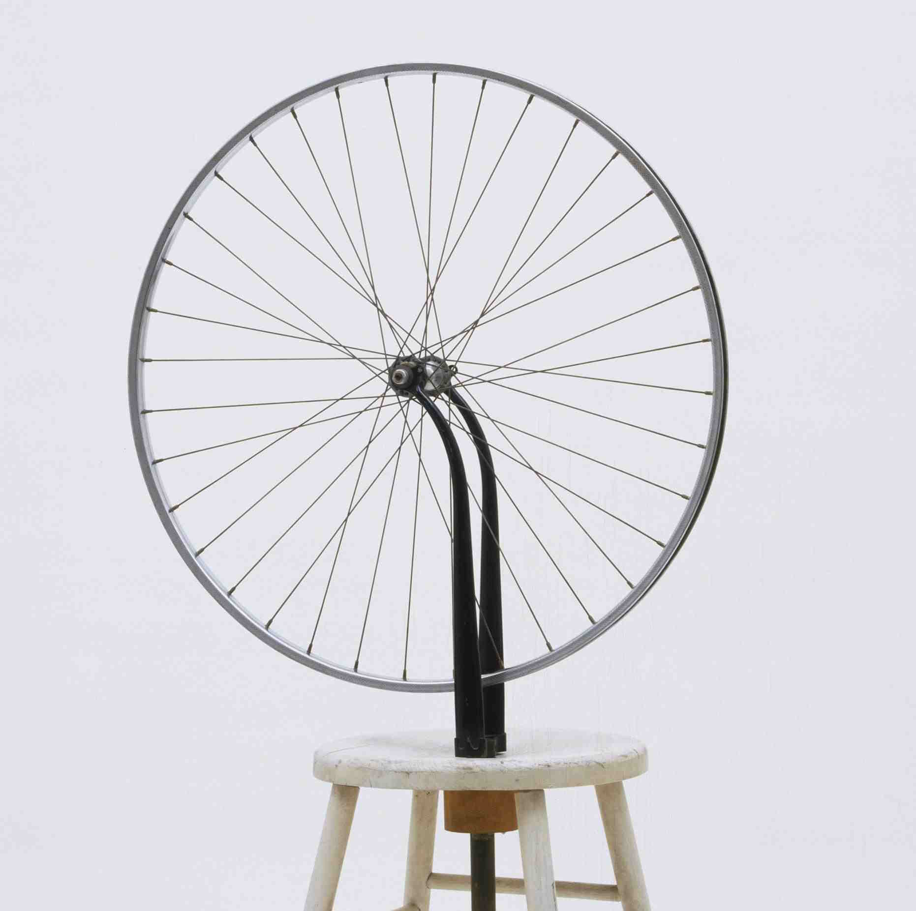 the creative expression in marcel duchamps bicycle wheel