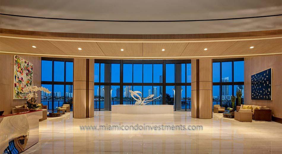 Prive condominiums lobby