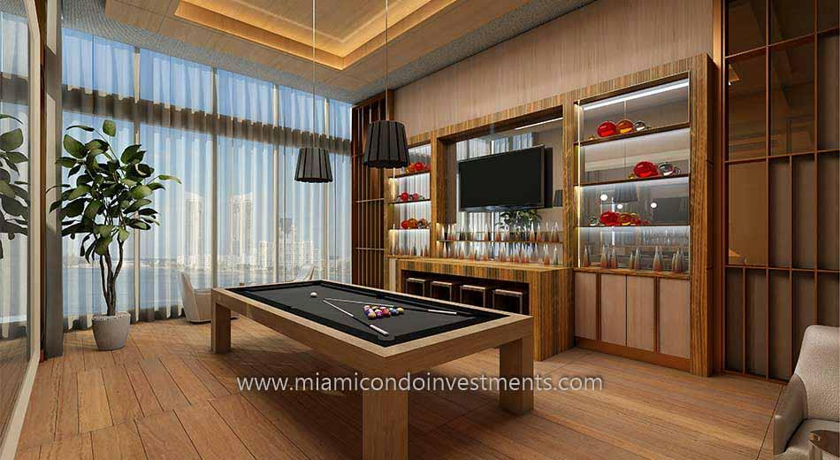 Prive condos club room
