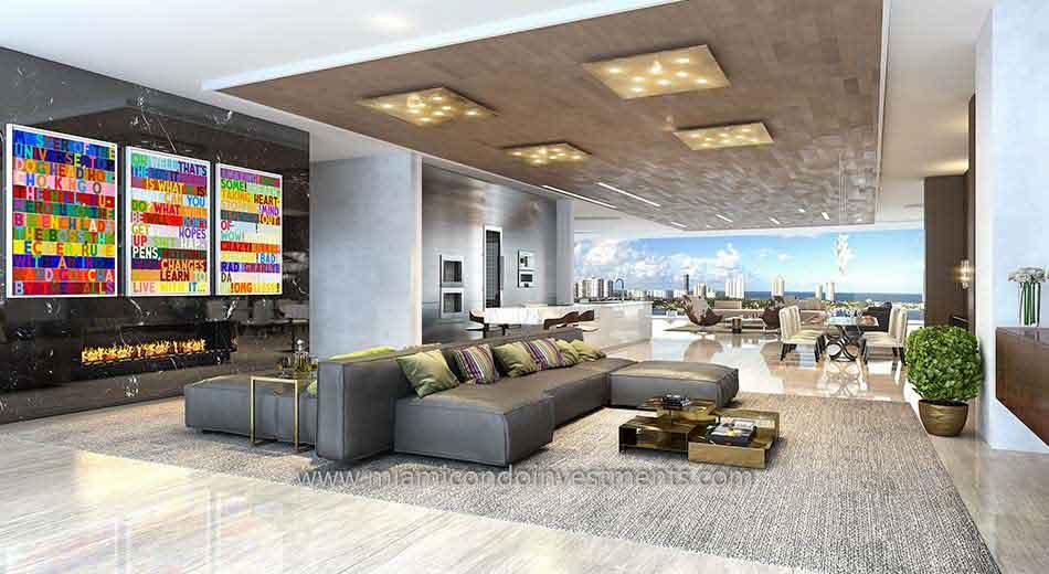 Prive condos flow-through residence