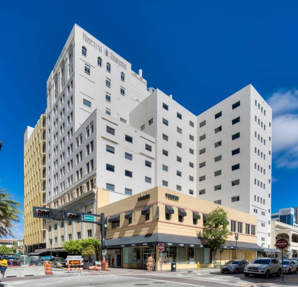 Biscayne Building 19 W. Flagler. Photo via Colliers International South Florida.