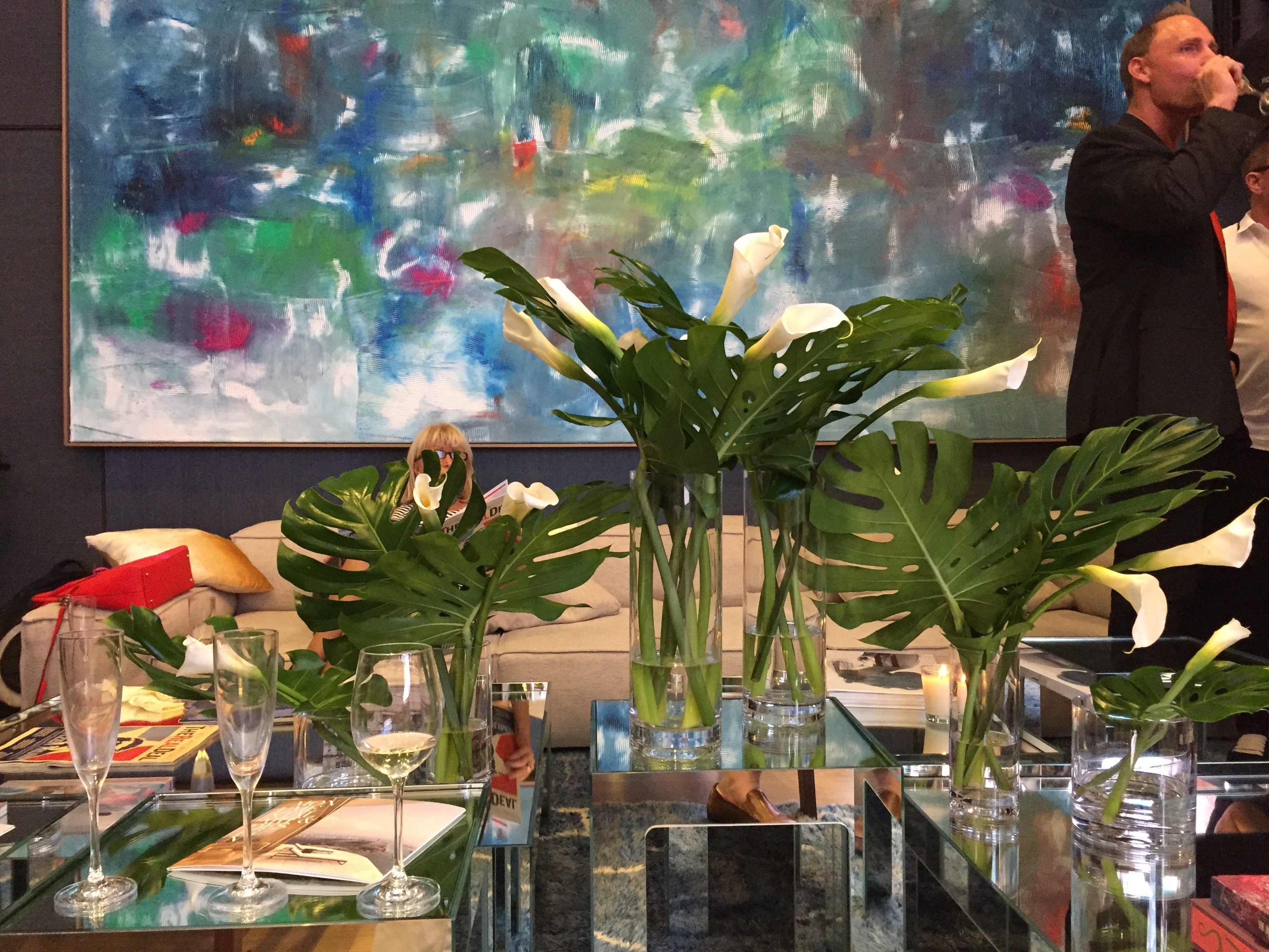 Scene from the Auberge Miami Launch Party at the the project's sales center. Sean McCaughan.
