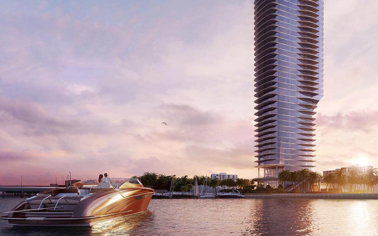Una Residences in Brickell Miami