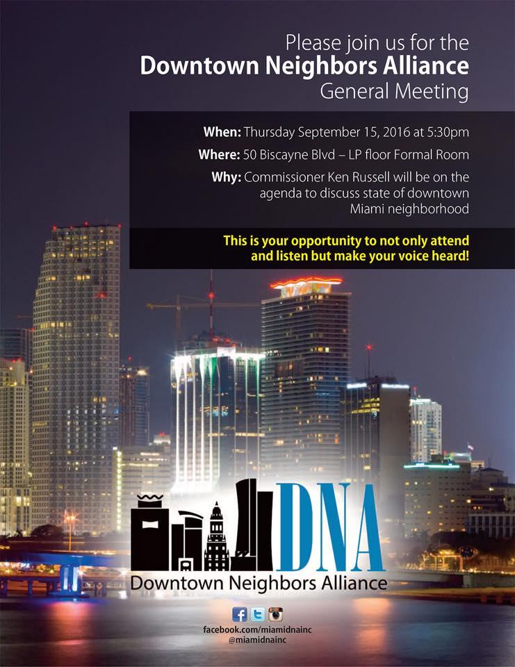 Downtown Miami Neighborhood Alliance