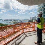 One Thousand Museum construction tour