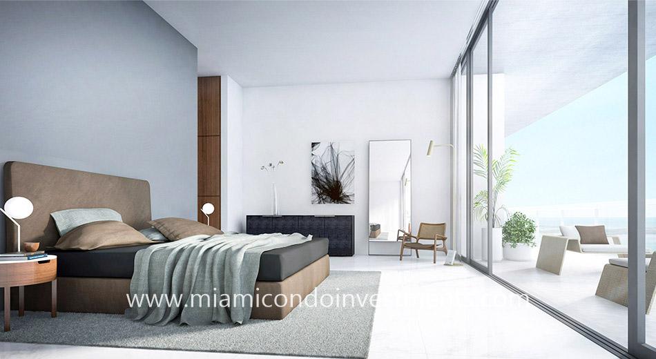 master bedroom Aston Martin Residences