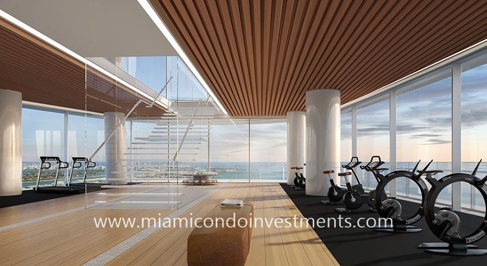fitness center Aston Martin Residences