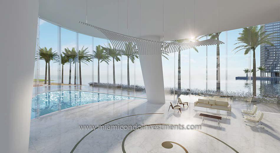 Aston Martin Residences pool