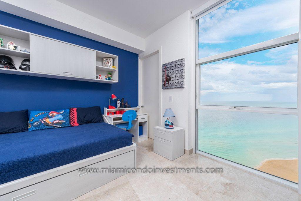 second bedroom with ocean view