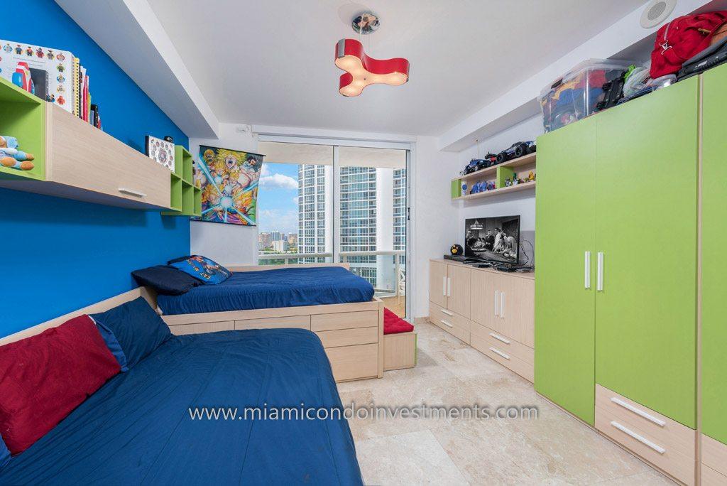 third bedroom at Trump Palace unit 3604
