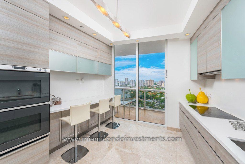 Trump Palace renovated kitchen