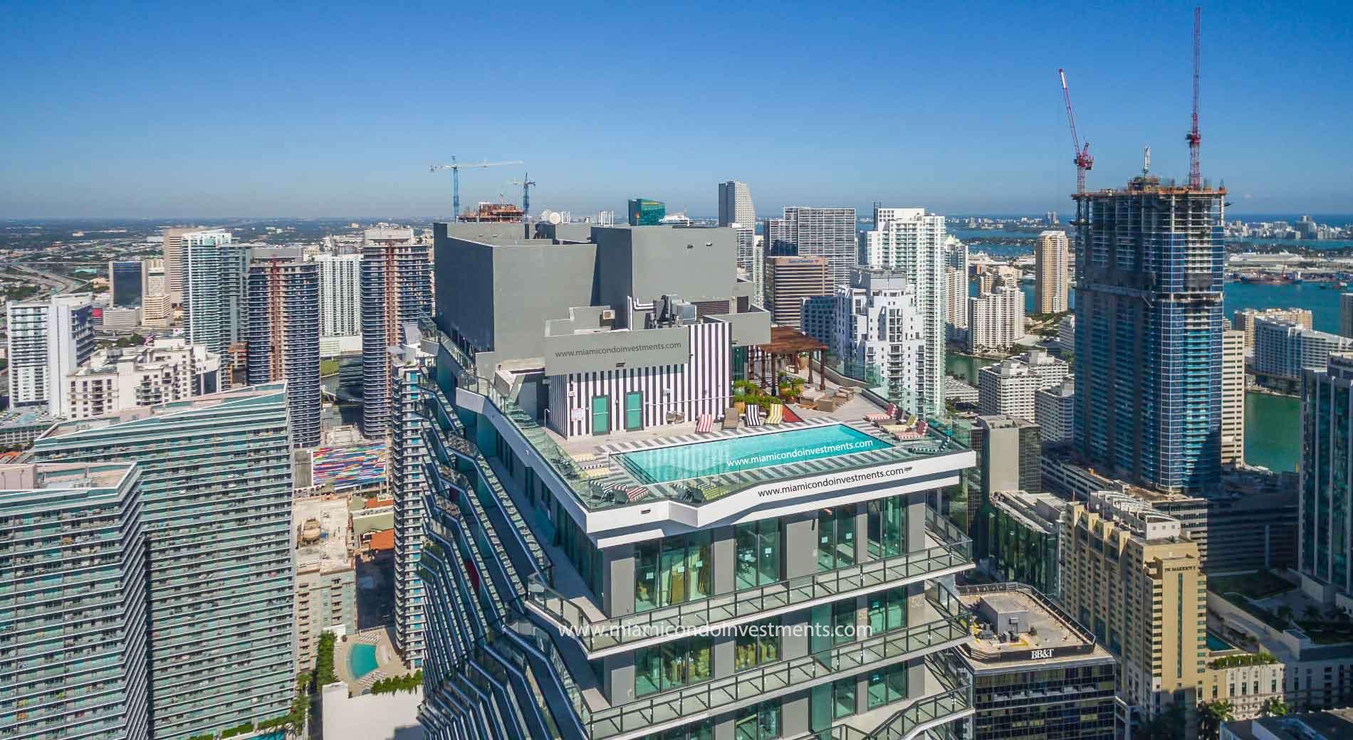SLS Brickell penthouses
