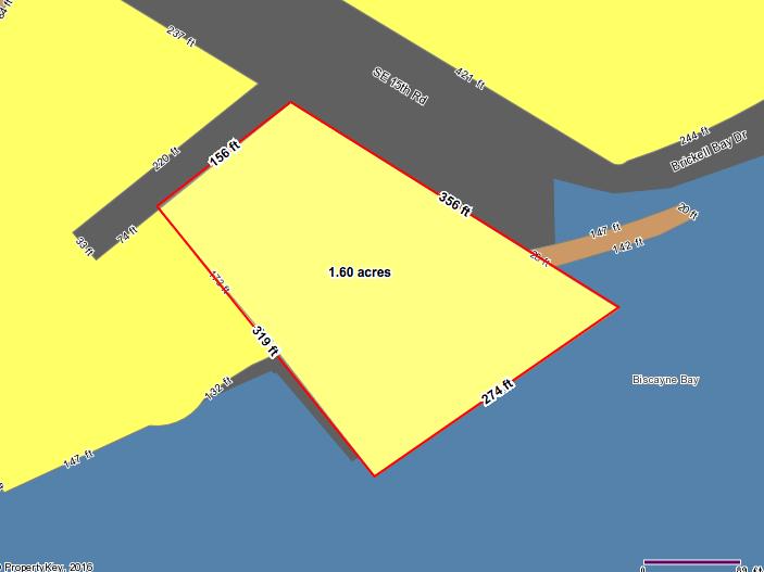 Brickell Harbour Development Site