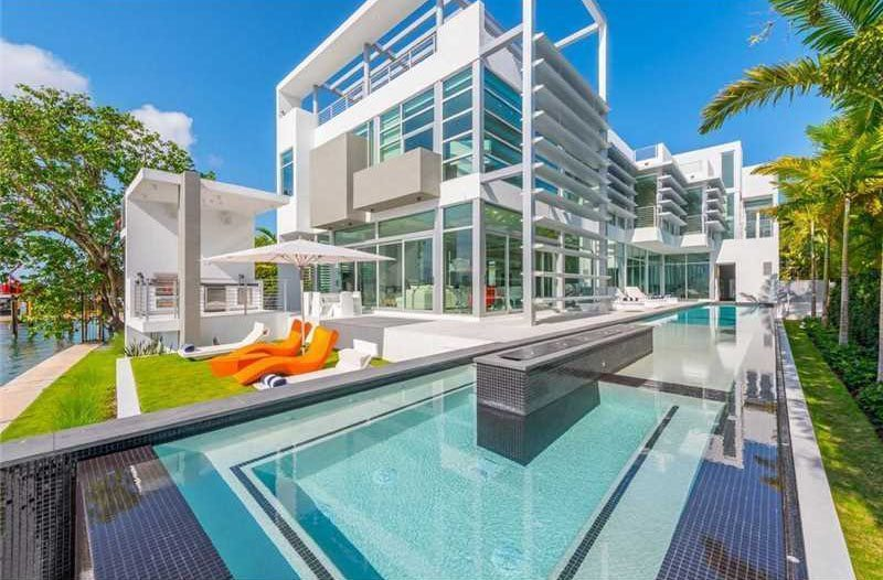 Check Out Photos Of Kylie Jenner's Art Basel Rental Mansion