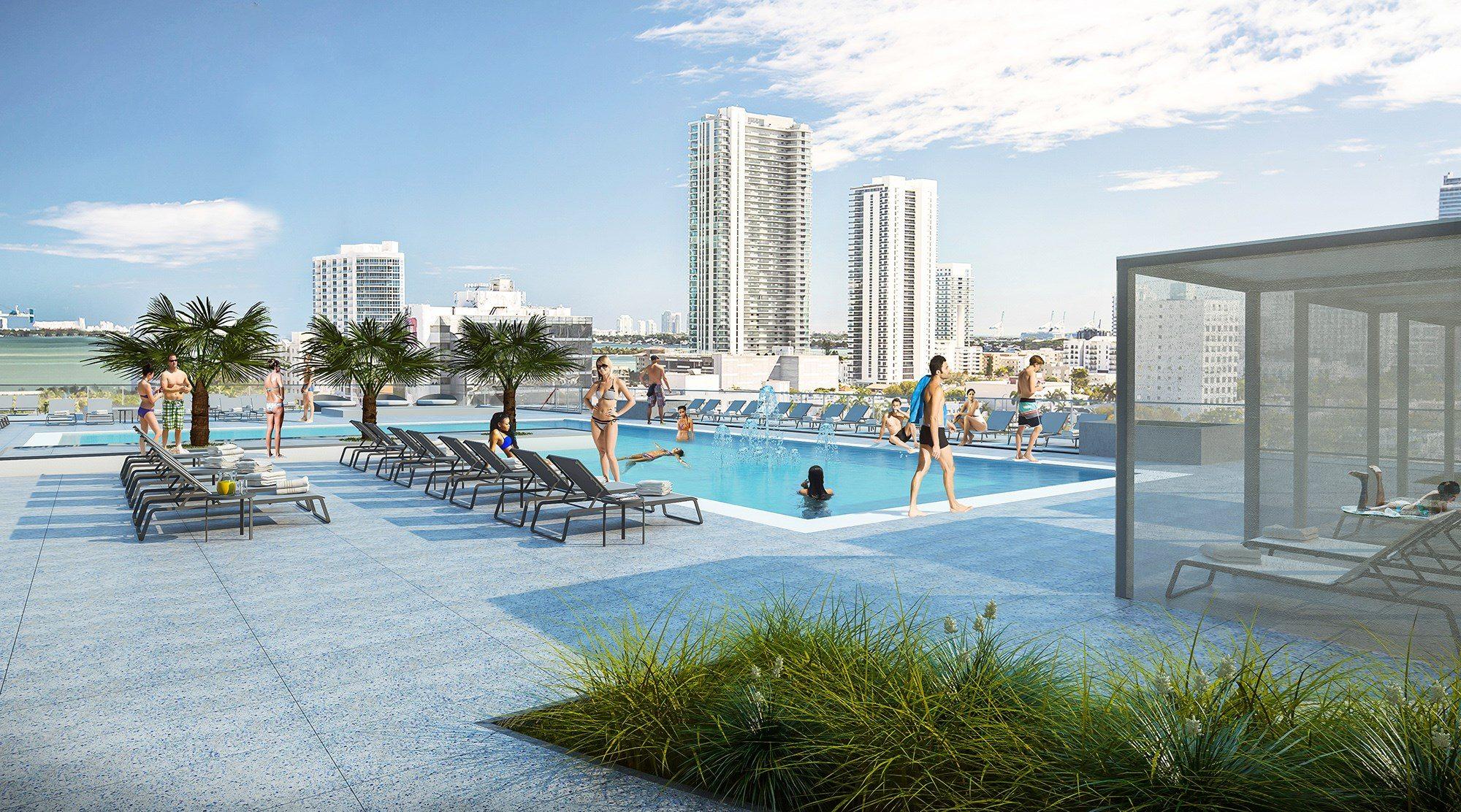 Midtown Five Pool 2