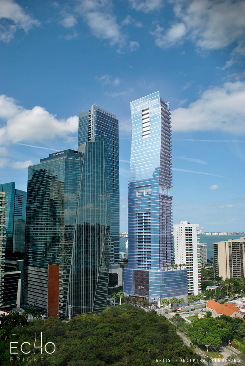 Watch ECHO Brickell Rise With Their Live Online Construction Cam