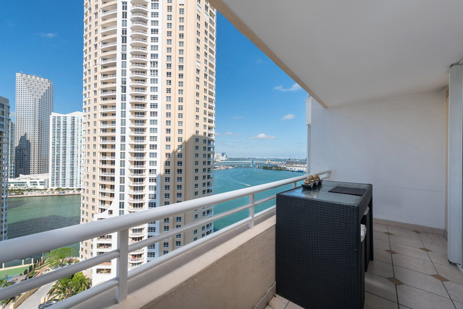 view from Two Tequesta Point condo