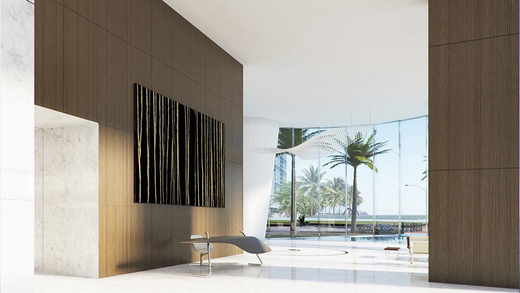 Aston Martin Residences Amenity Lobby